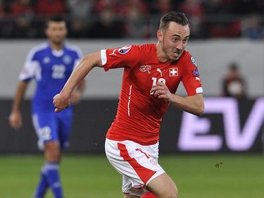 Mönchengladbachs Torjäger Josip Drmic kann auf eine WM-Teilnahme hoffen