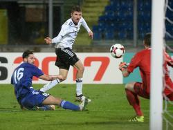 Thomas Müller blieb im WM-Qualifikationsspiel gegen San Marino ohne Treffer