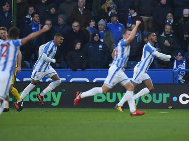 Huddersfield freute sich über den Sieg im Abstiegskampf