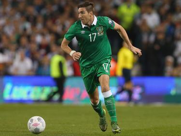 Stephen Ward schoss den einzigen Treffer für Irland