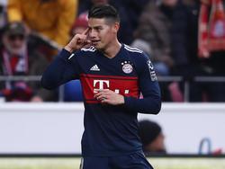 James Rodriguez könnte sein Bayern-Engagement vorzeitig beenden
