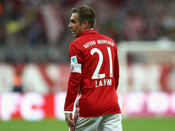 Die Bayern mussten kurzfristig auf Lahm verzichten