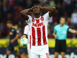 Der 1.FC Köln muss auf Jhon Córdoba verzichten