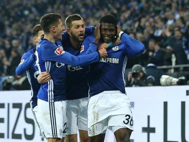 Breel Embolo erzielte das 2:0 für den FC Schalke