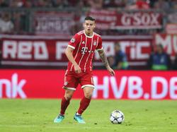 James ha vuelto a nacer como jugador en la Bundesliga. (Foto: Getty)