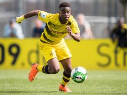 Youssoufa Moukoko ist der große Star der Dortmunder Nachwuchsmannschaft