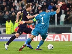 Auch Tormann Buffon konnte das Remis nicht verhindern
