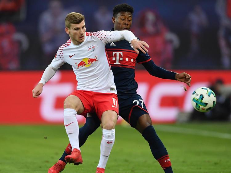 Timo Werner traf zur 2:1-Führung gegen die Bayern
