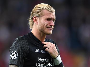Liverpools Keeper Loris Karius leistete sich im Finale zwei dicke Patzer