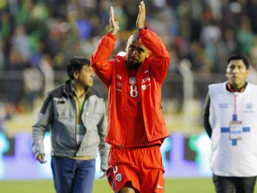 Will auch zukünftig im Nationaldress auflaufen: Arturo Vidal