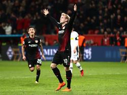 Beim Spiel gegen RB Leipzig konnte Julian Brandt seine Qualitäten unter Beweis stellen