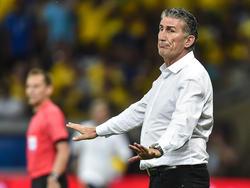 El entrenador defendió la actuación argentina ante Colombia: (Foto: Getty)