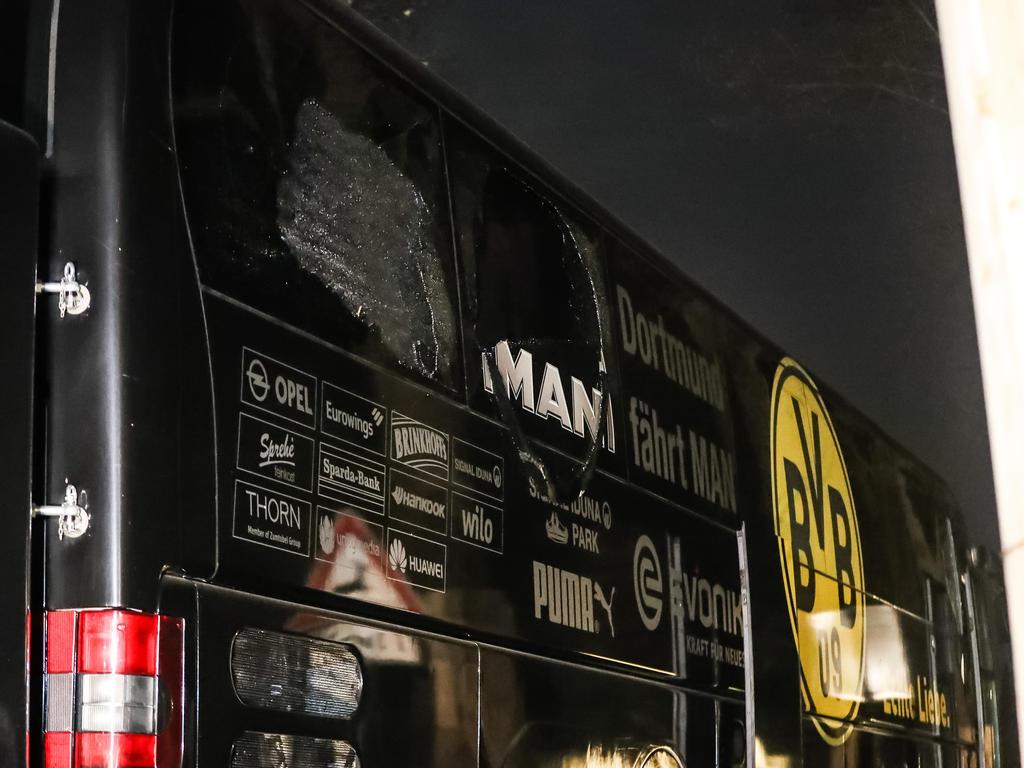 Festnahme nach dem Anschlag auf den Mannschaftsbus des BVB