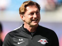 Ralph Hasenhüttl kann mit dem Remis auf Schalke gut leben