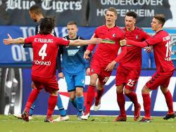 Nils Petersen rettete Freiburg einen Punkt