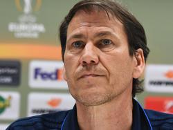 Rudi Garcia versucht offensichtlich, Druck vom Team zu nehmen