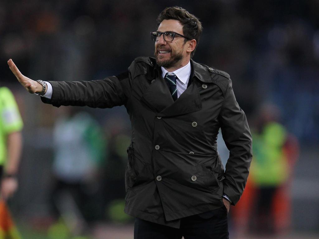 Eusebio Di Francesco tritt beim AS Rom die Nachfolge von Luciano Spalletti an