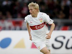 Andreas Beck in der Saison 2007/08 im Trikot der Stuttgarter