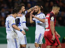 Schalke hatte gegen den Drittligisten keine Probleme