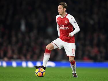 Der Vertrag von Mesut Özil läuft beim FC Arsenal zum Saisonende aus