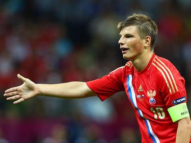 Russlands Ex-Teamstar Andrey Arshavin