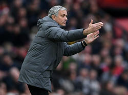 José Mourinho war mit dem Hinspiel gegen Sevilla nicht zufrieden