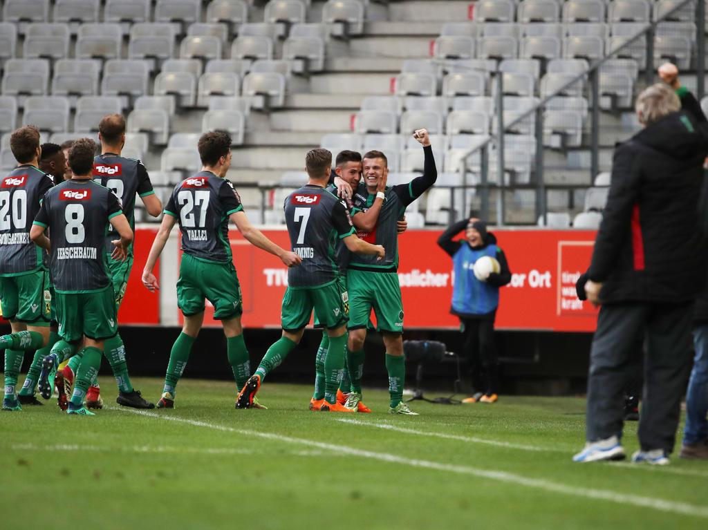 Erste liga news wacker holt big points ried patzt for Ergebnisse erste liga
