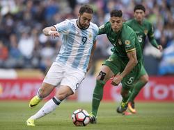 Partido entre Argentina y Bolivia jugado en junio de 2016. (Foto: Imago)