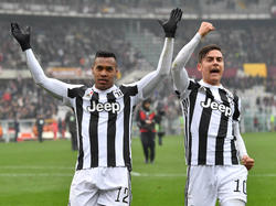 Alex Sandro marcó el único gol en el derbi de Turín. (Foto: Getty)
