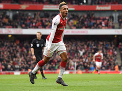Pierre-Emerick Aubameyang hat schon fünf Treffer für die Gunners erzielt