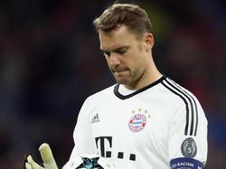 Manuel Neuer hat seit September kein Spiel mehr absolviert