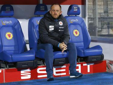 Braunschweigs Trainer Torsten Lieberknecht will mit seinem Team die Klasse halten