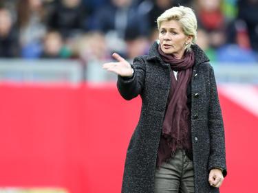 Bundestrainerin Silvia Neid will die beiden kommenden Spiele gewinnen