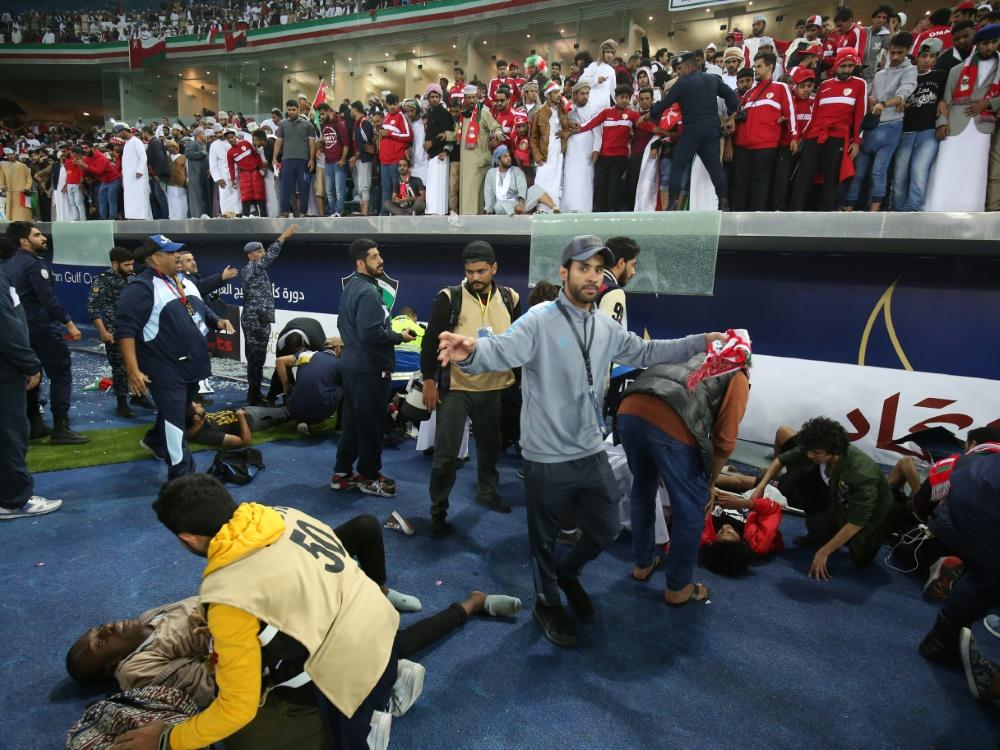 40 Verletzte beim Golf-Cup-Finale in Kuwait