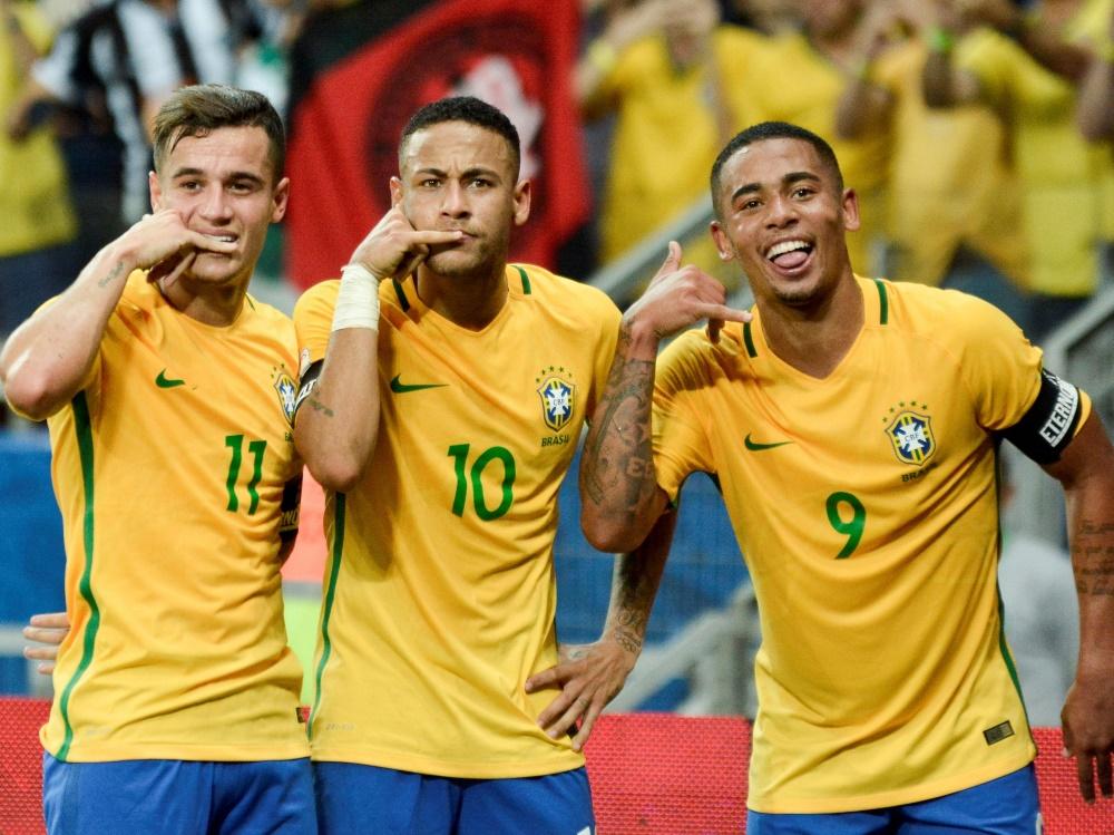 Brasilien spielt vor WM gegen Kroatien und Österreich