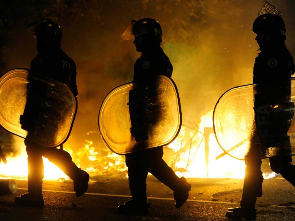 Nach dem Finale der Copa Libertadores kam es zu Gewalt