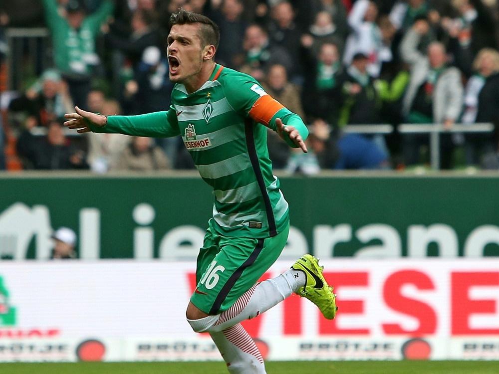 Bleibt Kapitän bei Werder Bremen: Zlatko Junuzović