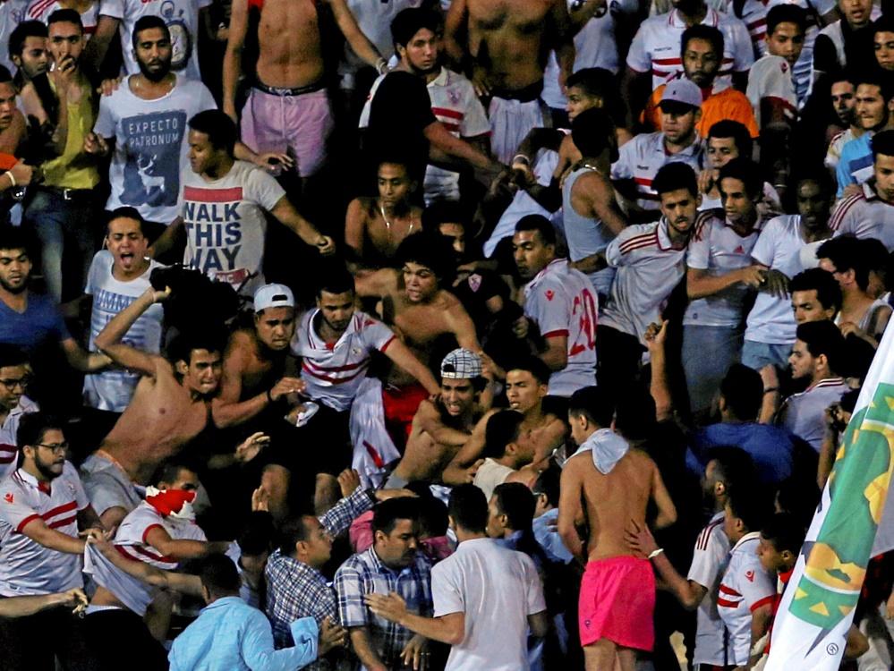 Die Stadion-Krawalle von 2015 in Kairo wurden geahndet