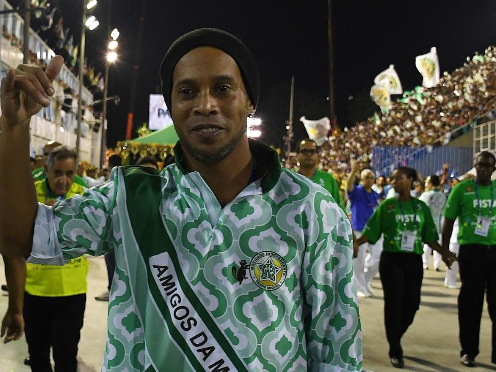 Auch Ronaldinho geht in die Politik