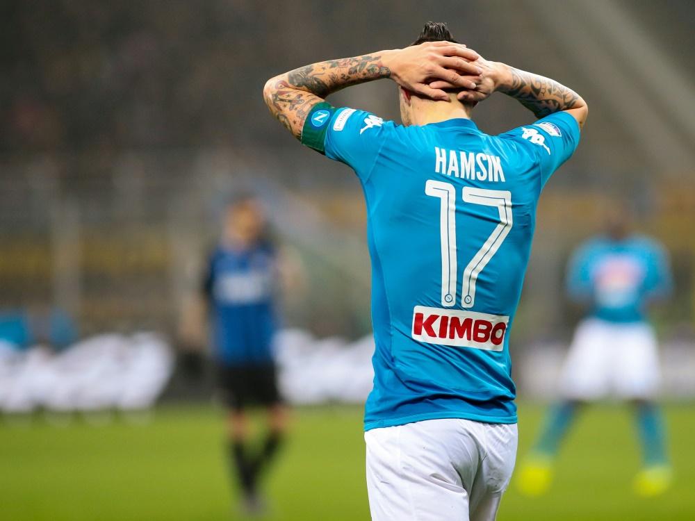 Der SSC Neapel ließ wichtige Punkte gegen Sassuolo Calcio liegen