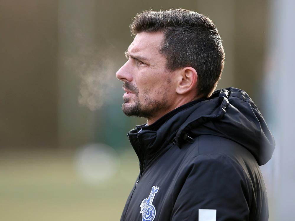 Entlassen: Trainer Franz-Pohlmann beim MSV Duisburg