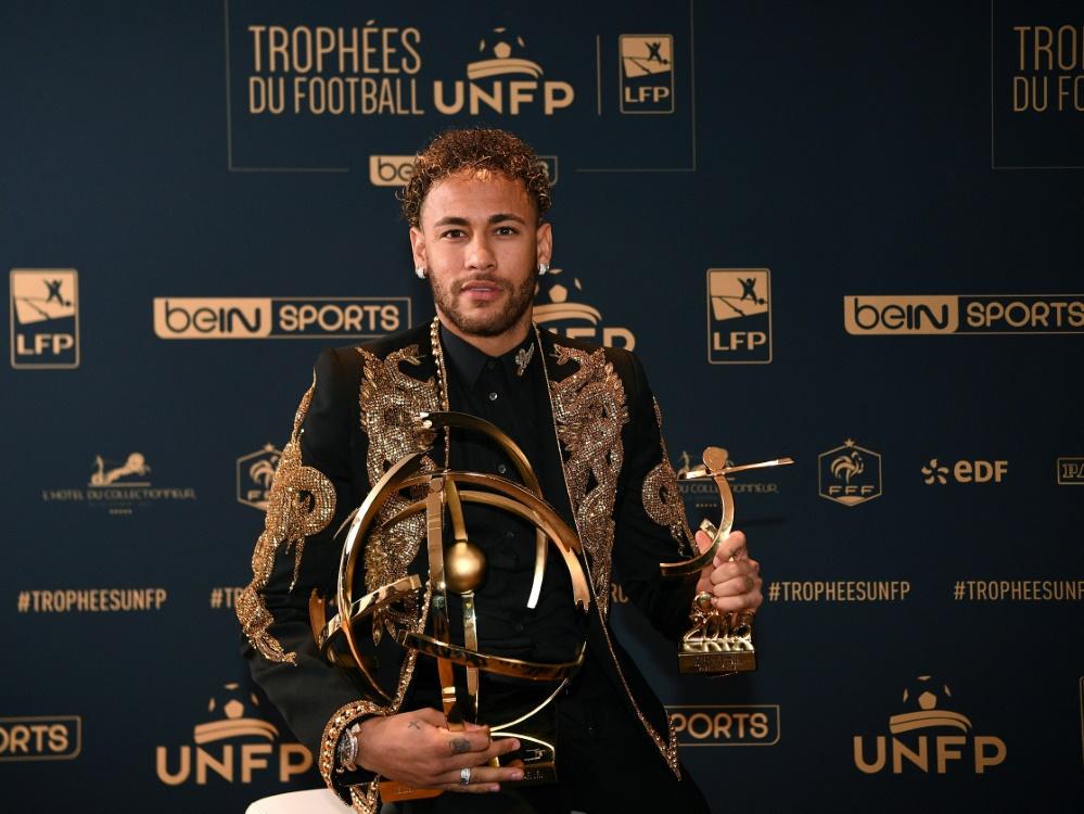 Spieler des Jahres in Frankreich: Neymar