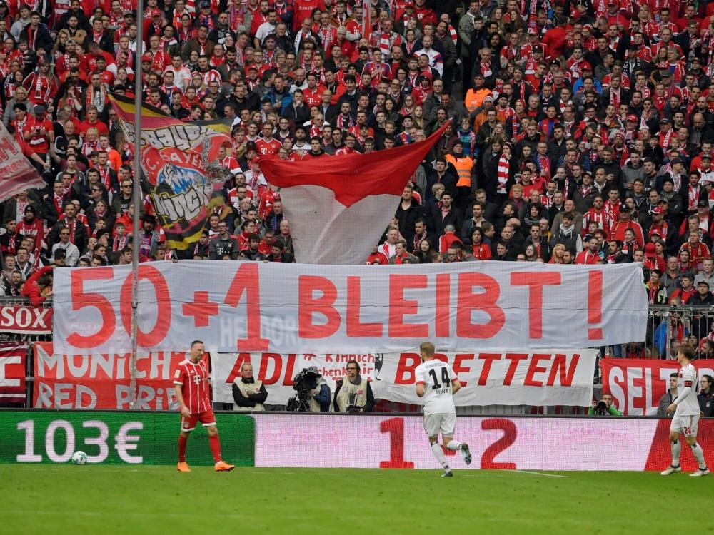 Für die Fans ist der Erhalt von 50+1 in der Bundesliga essenziell
