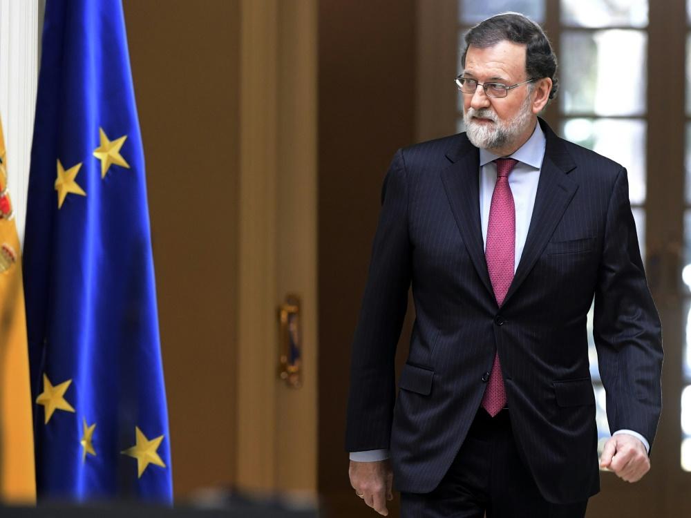 Mariano Rajoy sagt seine Reise nach Kiev ab