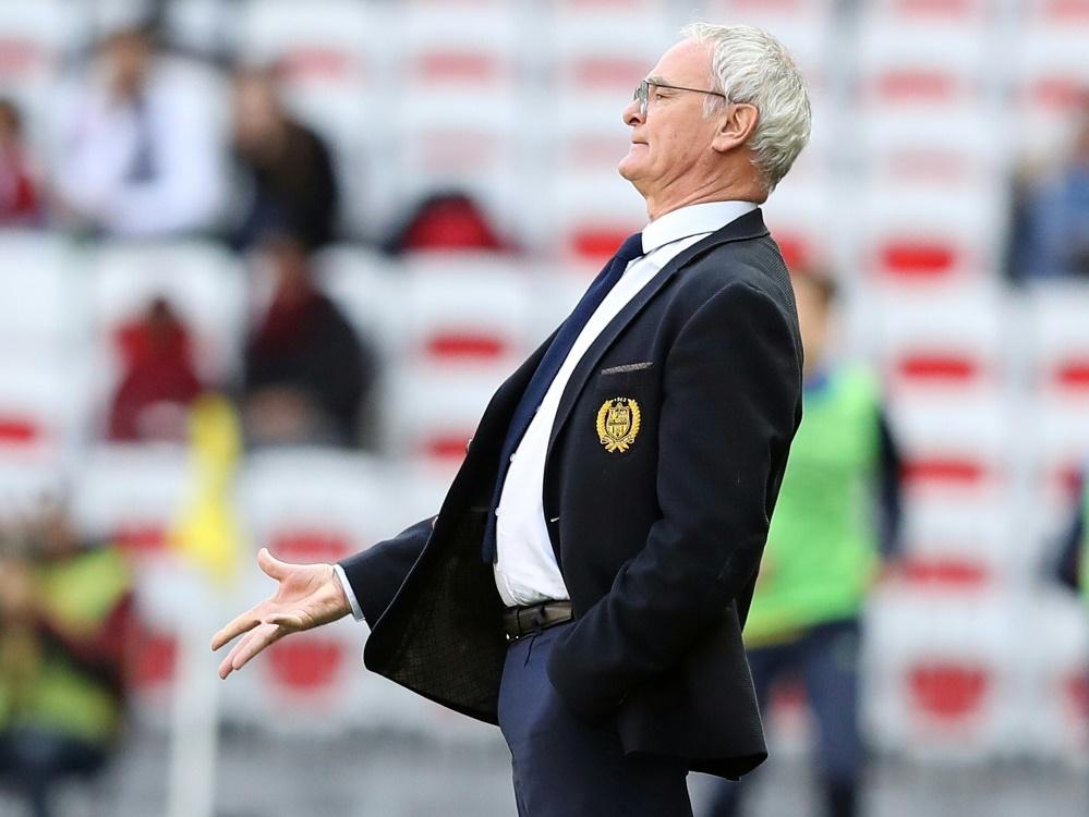 Claudio Ranieri betreut derzeit den französischen Tabellenfünften FC Nantes