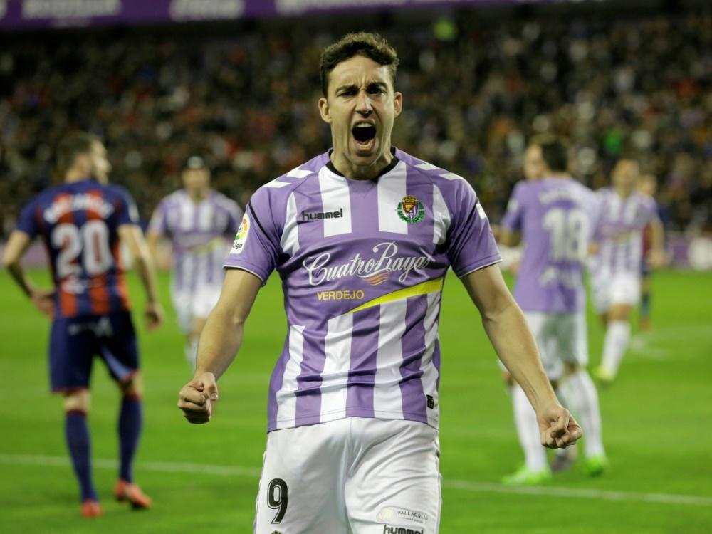 Valladolid steigt als dritter Verein in La Liga auf