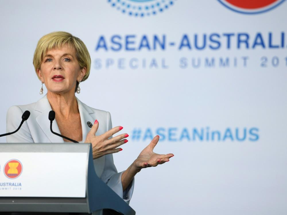 Australiens Außenministerin Julie Bishop