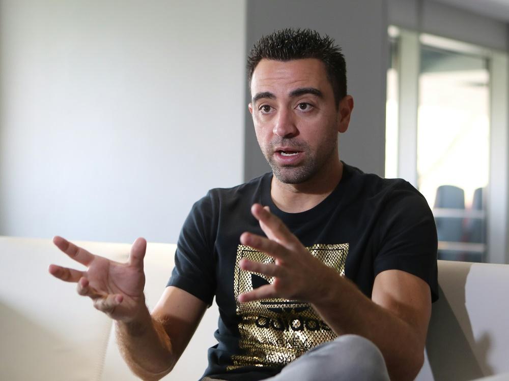 Derzeit steht Xavi noch bei Al Sadd unter Vertrag