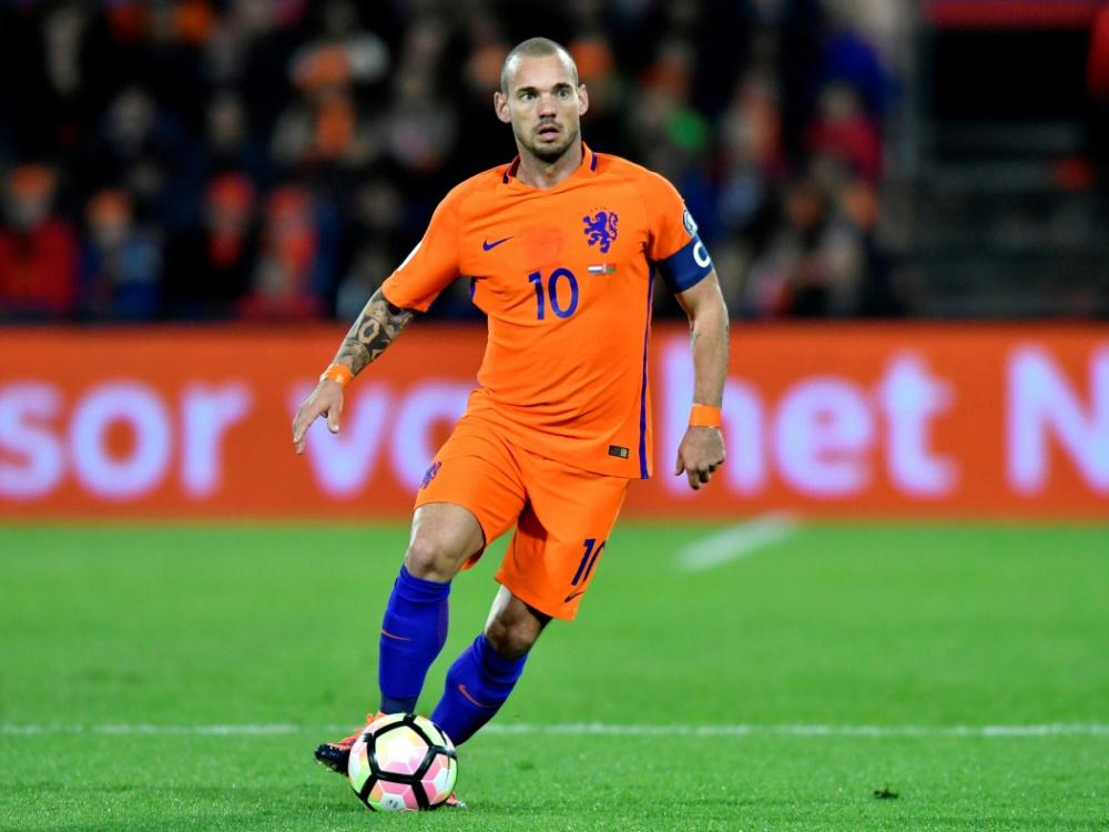 Wesley Sneijder tritt aus dem Oranje-Team zurück