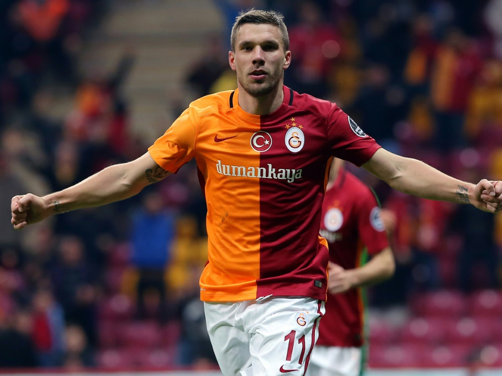 Podolski-Klub Galatasaray fast sicher in Europa League